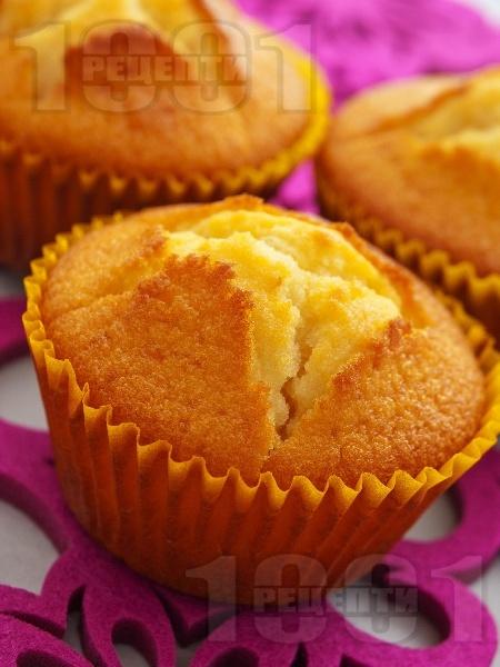 Вкусни и лесни мъфини с ванилия - снимка на рецептата